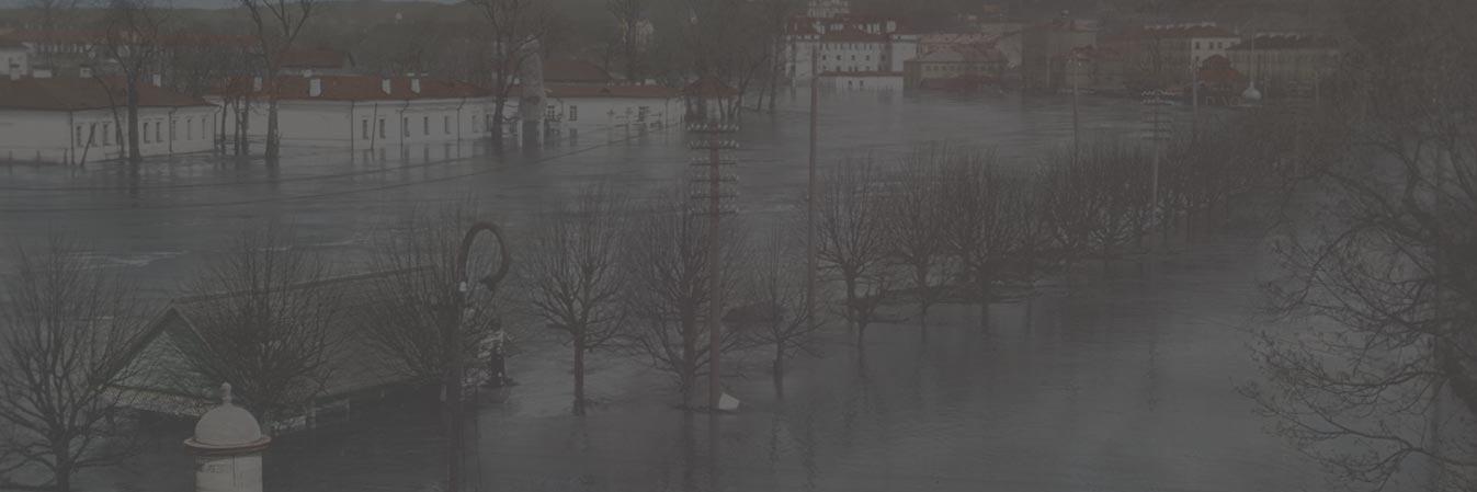 Kada potvynis užlies Vilniaus ir Kauno senamiestį?
